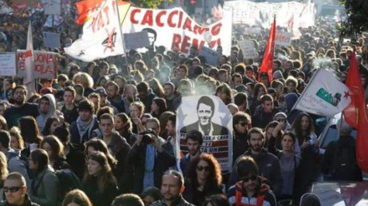 ВРиме начались акции протеста против конституционной реформы
