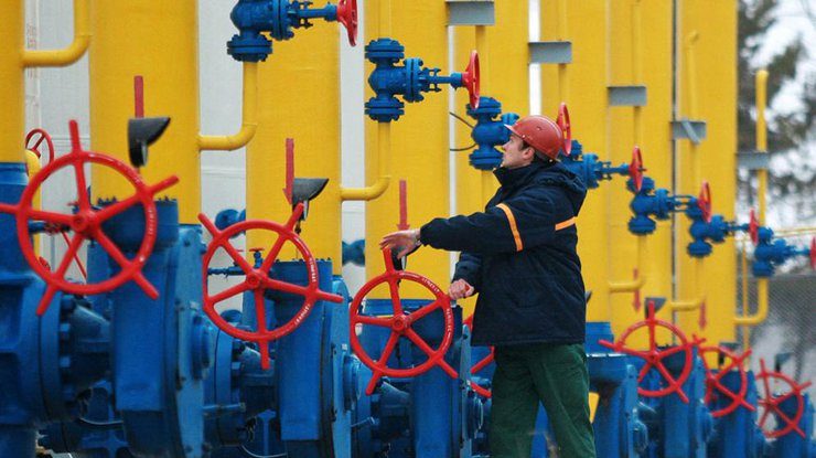 Объемы газа вхранилищах государства Украины уменьшились на млрд кубометров