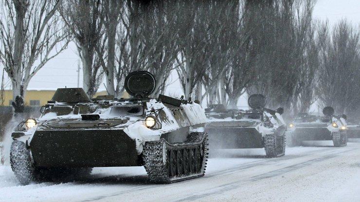 Российская Федерация расположила около границы с государством Украина 55 тыс. военных