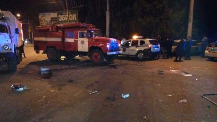 Из-за дорожно-траспортного происшествия вОдессе пострадали шесть человек, среди них ребенок