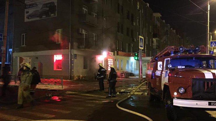 Вливанском ресторане вХарькове произошел взрыв, есть пострадавшие