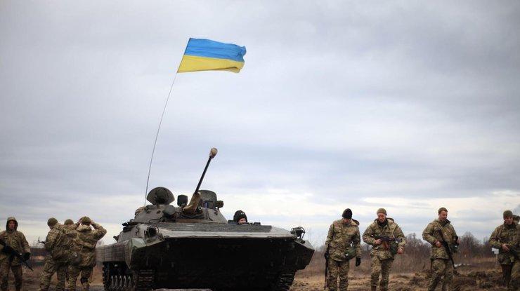 НаДонбассе 5 бойцов получили ранения