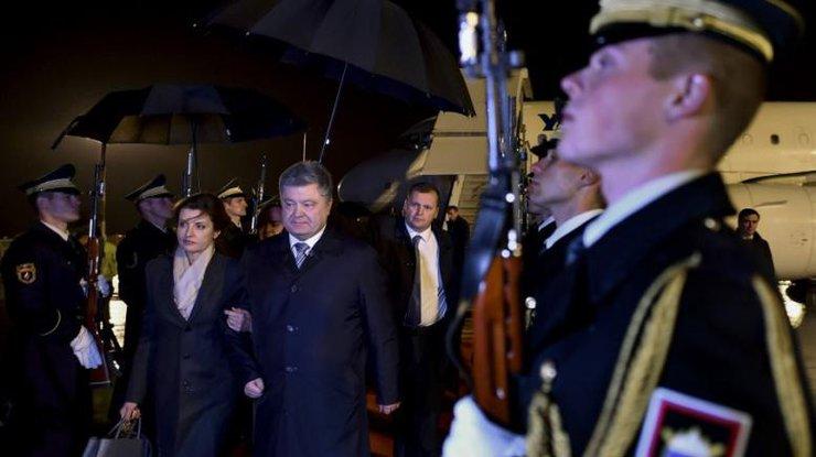 Порошенко начал свой 1-ый визит вСловению