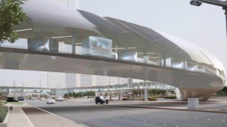 ВАрабских Эмиратах запустят вакуумный суперпоезд