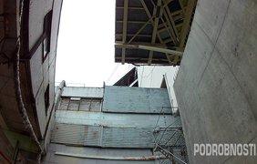 Чернобыльский саркофаг показали изнутри