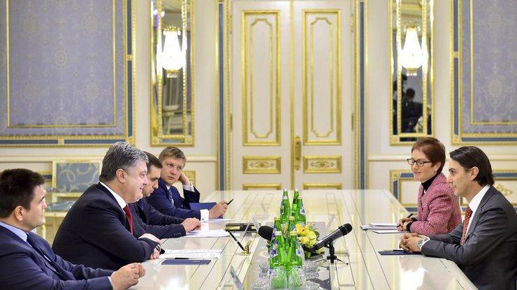 Порошенко обсудил самериканцами реформу энергетического сектора Украинского государства