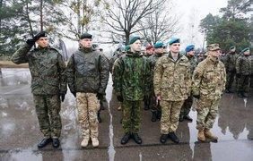 Украинские военные прибыли на учения в Польшу (фото: mil.gov.ua)