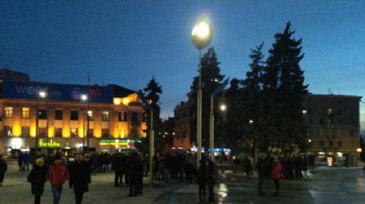 «Украинский порядок»: Нацисты провели факельное шествие вХарькове