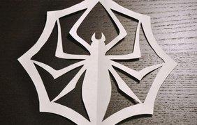 Снежинка-паук