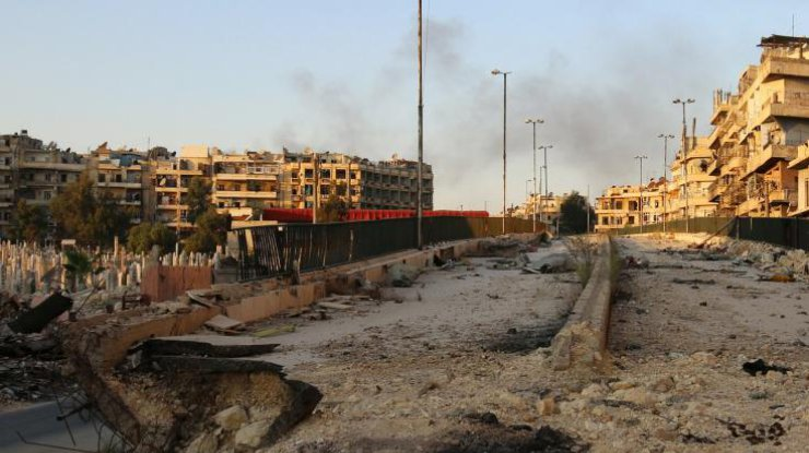 Армия Асада взяла под контроль 90% восточной части Алеппо