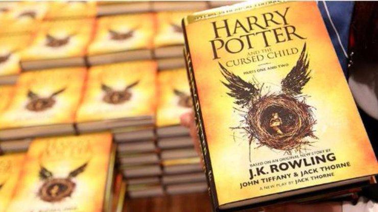 Компания Google назвала «Гарри Поттер ипроклятое дитя» книжкой года