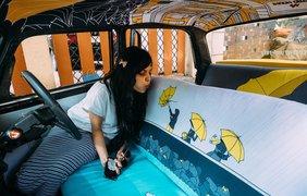 Космическое такси: необычное оформление авто в Индии (фото: Vk)