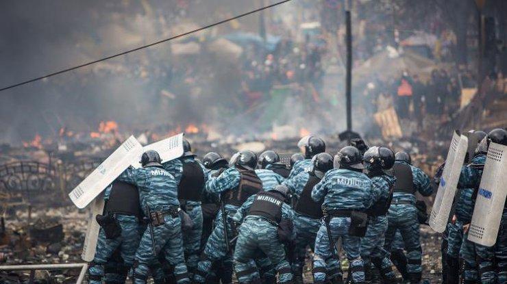 ВКиеве арестовали экс-беркутовца заизбиение активистов «Автомайдана»