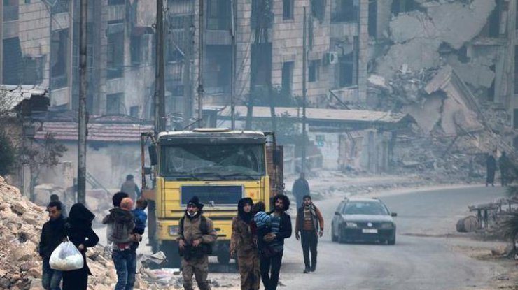 Генштаб РФ сообщил о начале вывода повстанцев и членов их семей из Алеппо - Цензор.НЕТ 1327