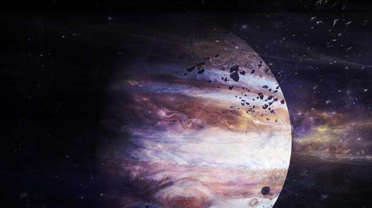 Зонд Juno сфотографировал «жемчужину» Юпитера
