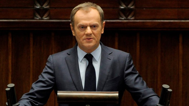 Туск возложил ответственность заассоциацию Украины наНидерланды