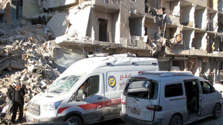 Взрыв вДамаске, есть жертвы
