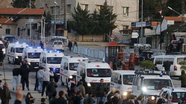 Красный крест начал эвакуацию террористов изАлеппо