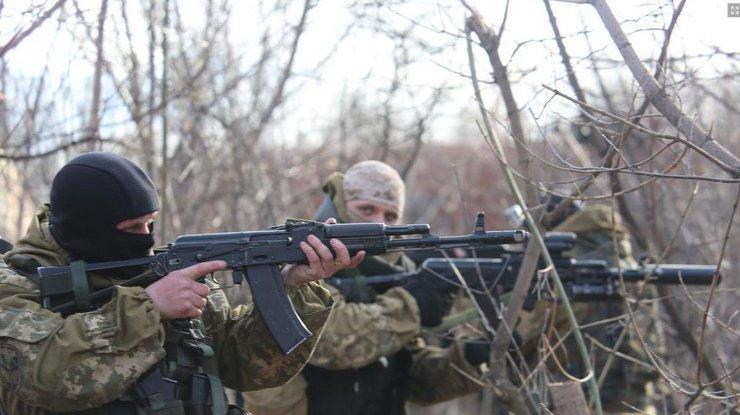 НаЛуганщине погиб украинский военный вбою сбоевиками