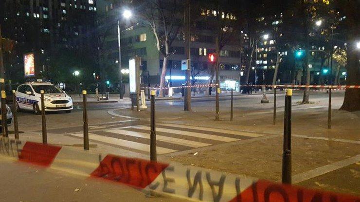 Нападение натурагентство встолице франции