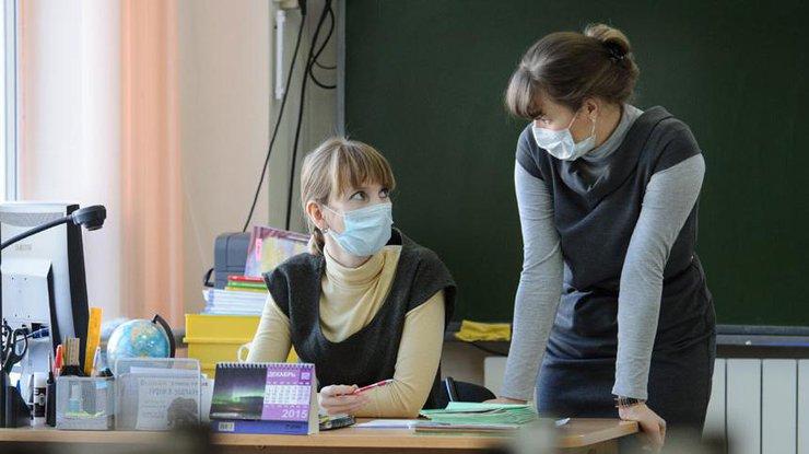 Запорожские школы закрылись накарантин погриппу