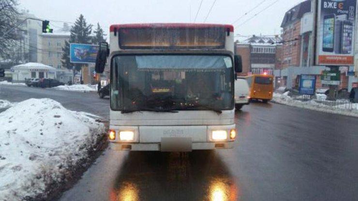 ВПолтаве автобус напешеходном переходе насмерть сбил женщину