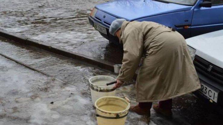 Из-за обстрелов террористов Авдеевка осталась без водоснабжения
