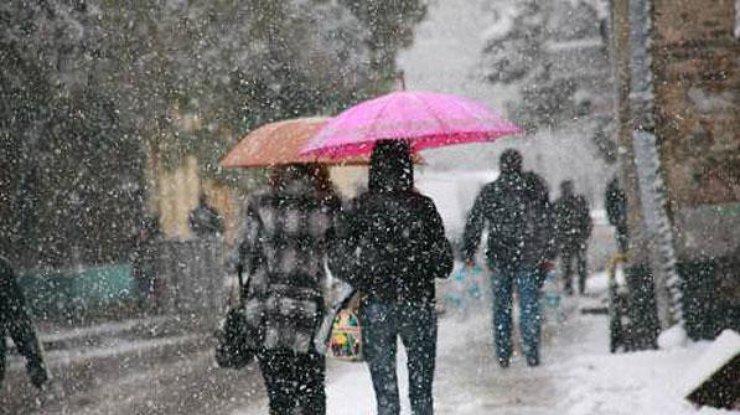 ВКраснодарском крае предполагается сильный снег сдождем