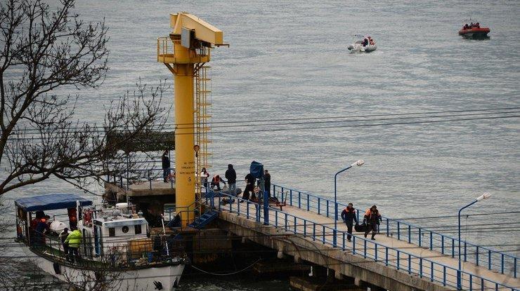Крушение русского самолета Ту-154: наместо происшествия направят два подводных аппарата