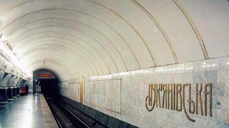 ВКиеве пассажирка бросилась под поезд настанции метро «Лукьяновка»