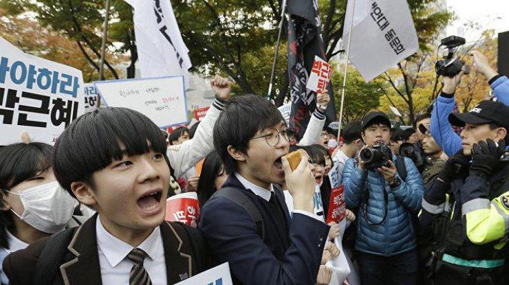 Голосование поимпичменту Пак Кын Хеперенесли— Южная Корея