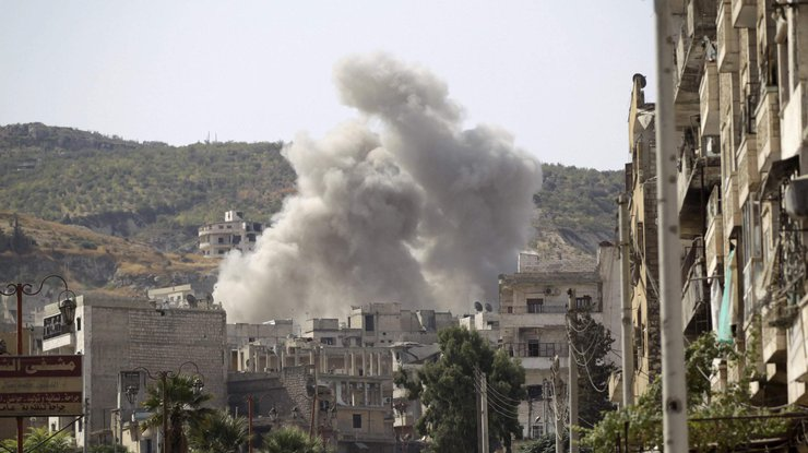 РФнанесла авиаудар поСирии, 14 гражданских погибло— защитники прав человека