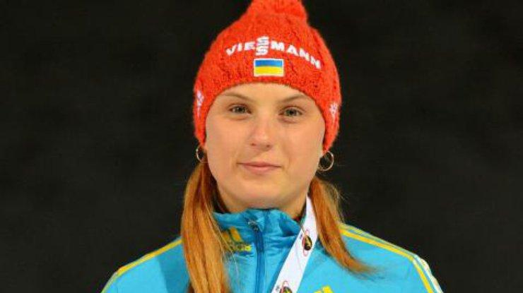 Украинская биатлонистка обогнала россиянку ивыиграла спринт наКубке Европы
