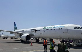 Над Сомали взорвался Airbus 321 во время полета