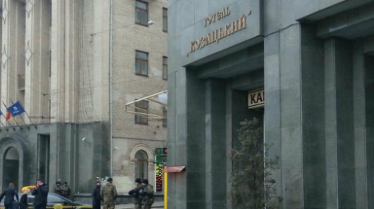 ВМВД опровергли всевозможные силовые действия вцентре украинской столицы
