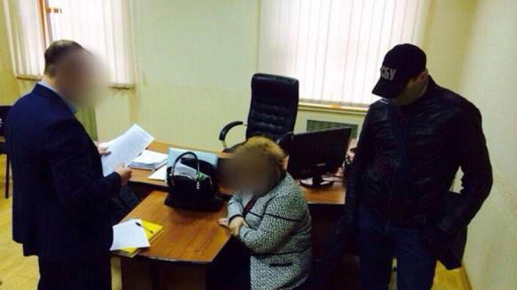 СБУ: Запорожский ректор пробовала дать крупную взятку заму Министра образования