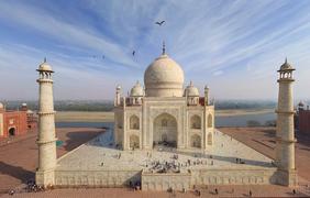 Индийский Тадж-Махал. Фото: airpano.ru