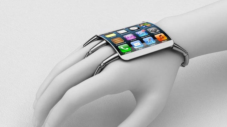 По прогнозам первый гибкий iPhone или Apple Watch появится в 2017 году