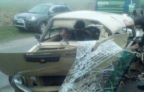 """На трассе Львов-Луцк произошла авария / Фото: из """"Варта 1"""""""