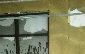 Неизвестные сожгли телестудию в Конотопе (фото)