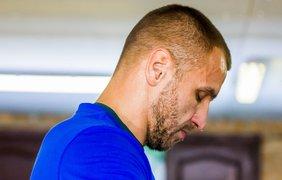 Тренировка Макса Бурсака перед поединком Фото: Мария Сулима