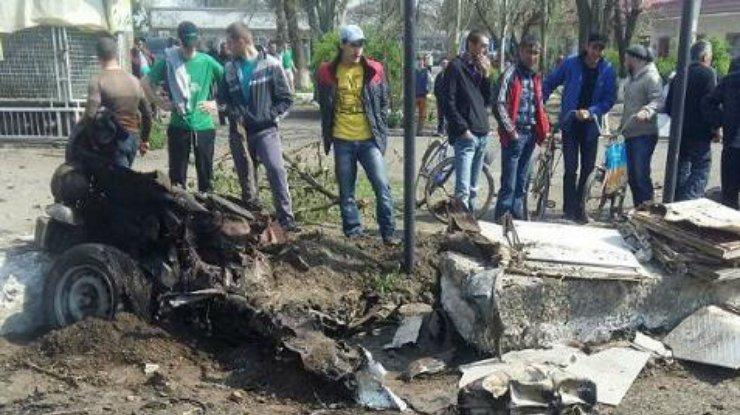 Взрыв автомашины вХерсонской области квалифицировали как теракт