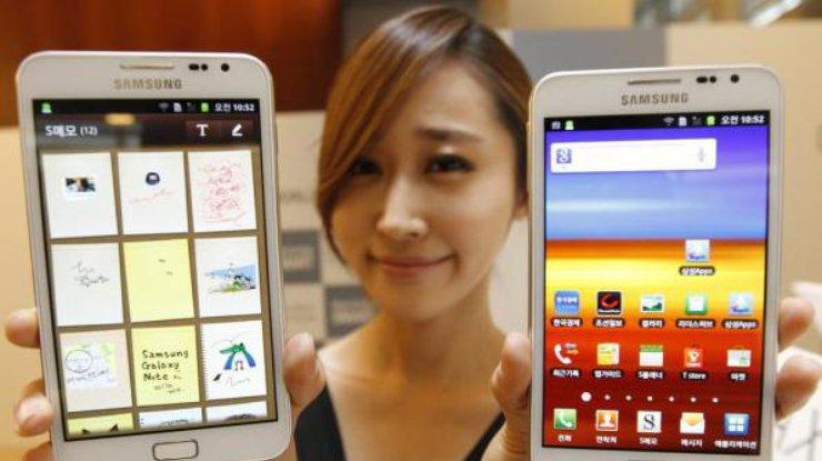 Samsung презентовал смартфон гигантского размера