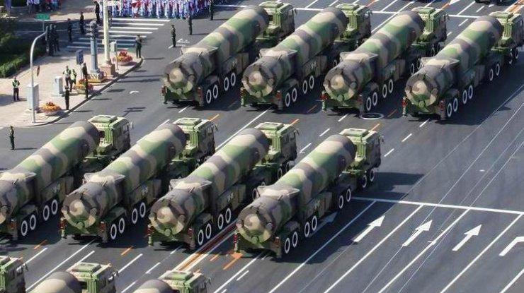 Американские СМИ сообщили обиспытании Китаем новейшей баллистической ракеты