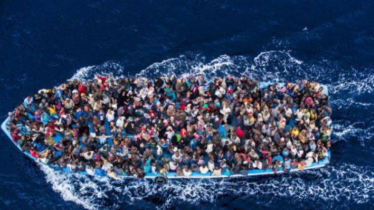 Отначала года вЕвропу морем прибыло свыше 181 тыс. мигрантов