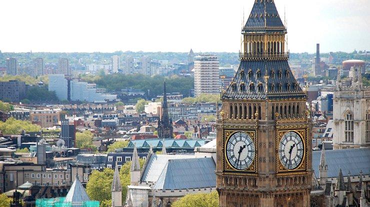 Встолице Англии остановят легендарные часы Big Ben,