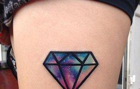 Новый тренд 2016: Instagram заполнили акварельные татуировки. Фото: beauty.ua