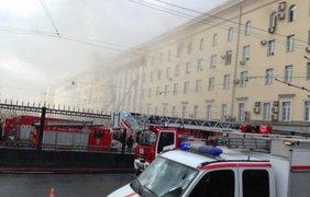 Пожар произошел на 3-м этаже пятиэтажного здания