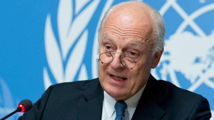 Вмеждународной организации ООН  вновь перенесли переговоры поСирии