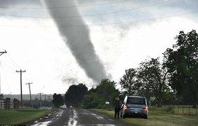 Мощные ураганы пронеслись по штату Оклахома